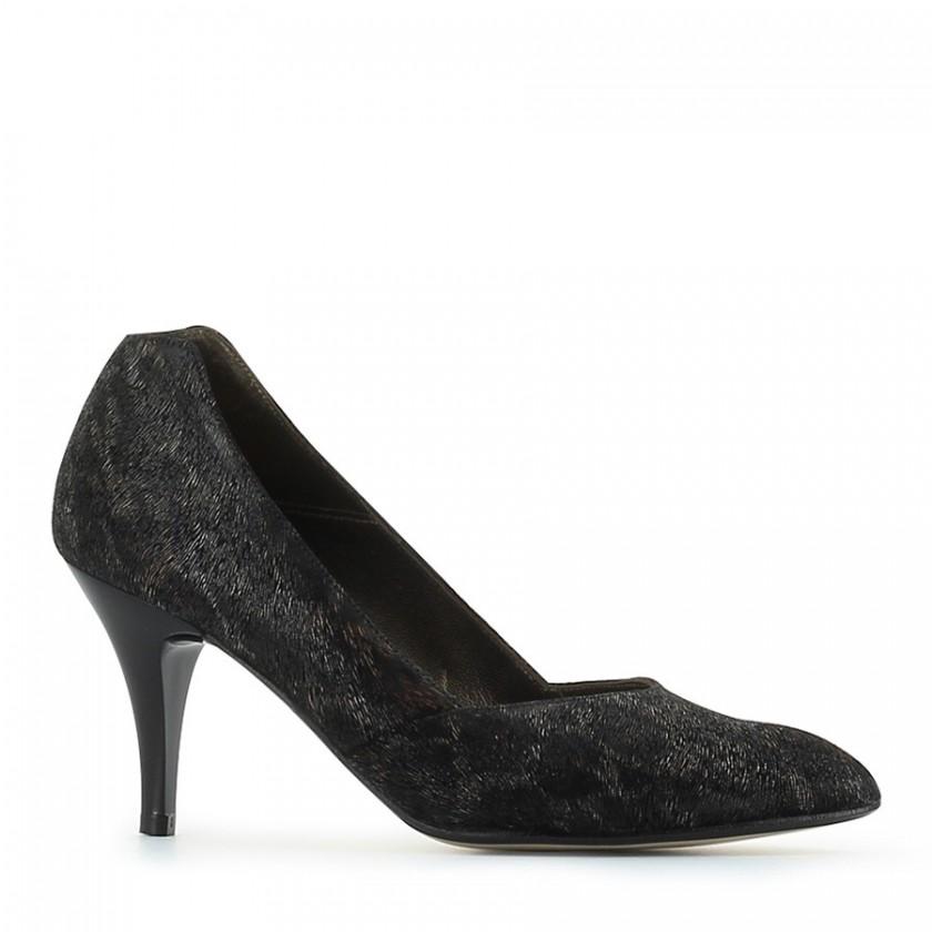 Sapato Senhora Tigre Bronze