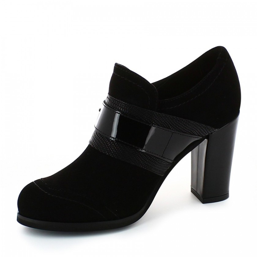 Sapatos Senhora Camurça Preta