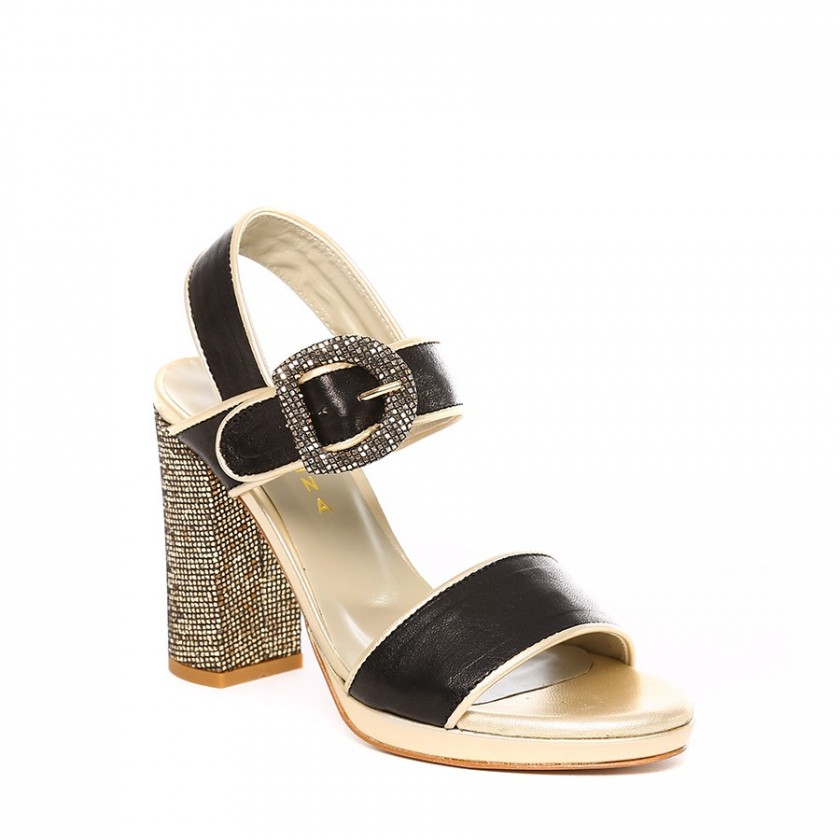Sandálias Preto / Ouro...