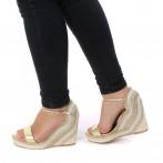 Sandalias Senhora Ouro