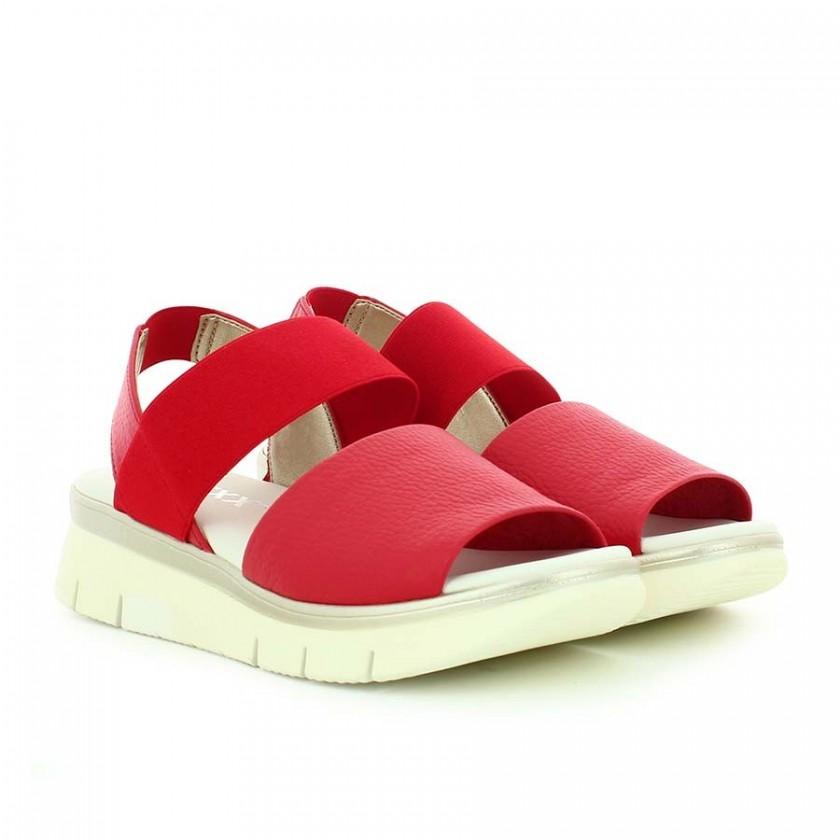 Sandálias Senhora Vermelhas