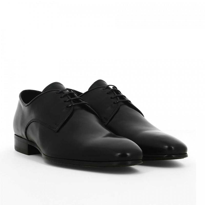 Sapatos Preto Polido Homem Cohibas