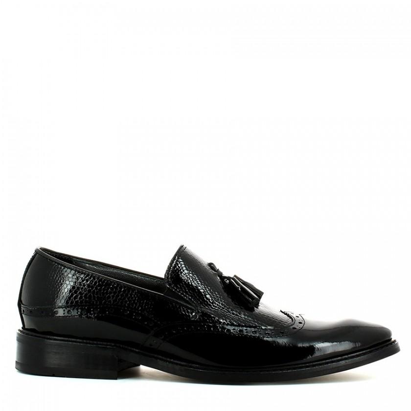 Sapato Homem Verniz Preto