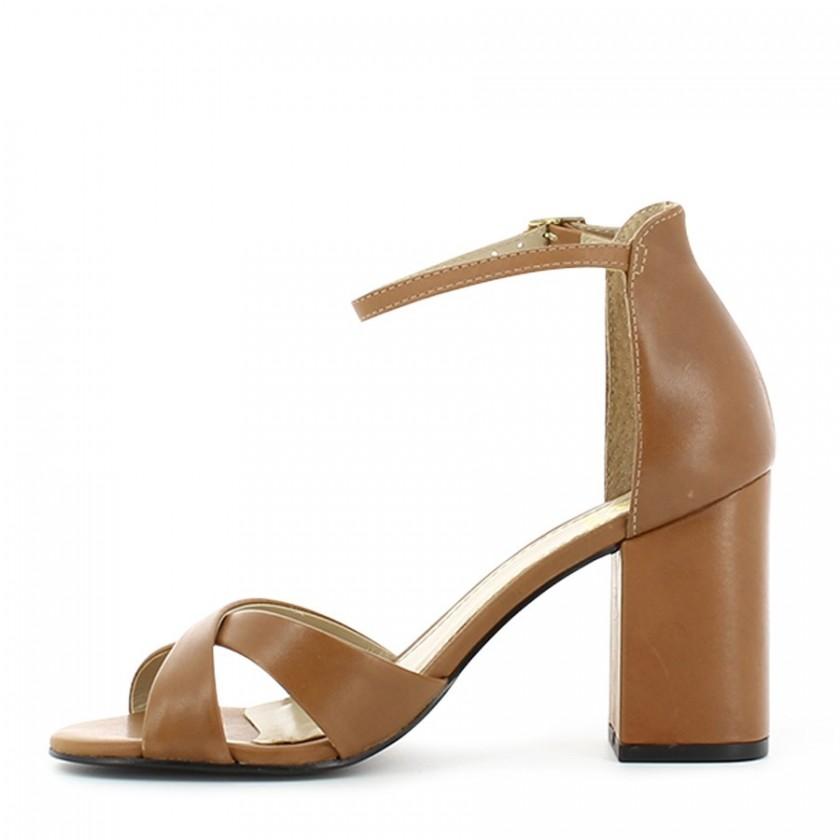 Sandália Senhora Camel