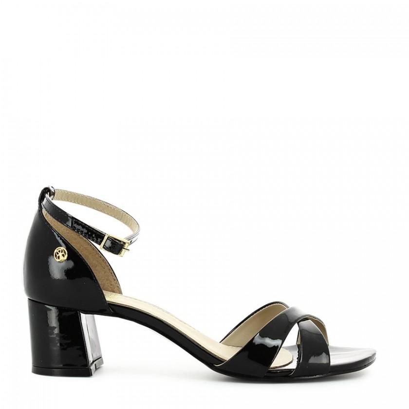 Sandálias Senhora Verniz Preto