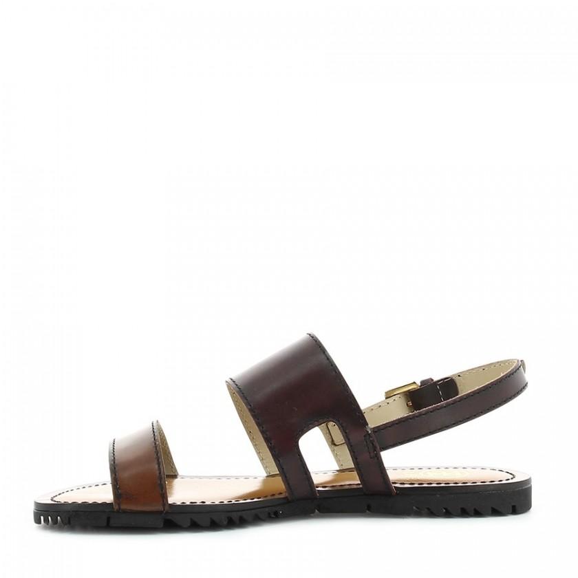 Sandálias Senhora Bordeaux / Camel