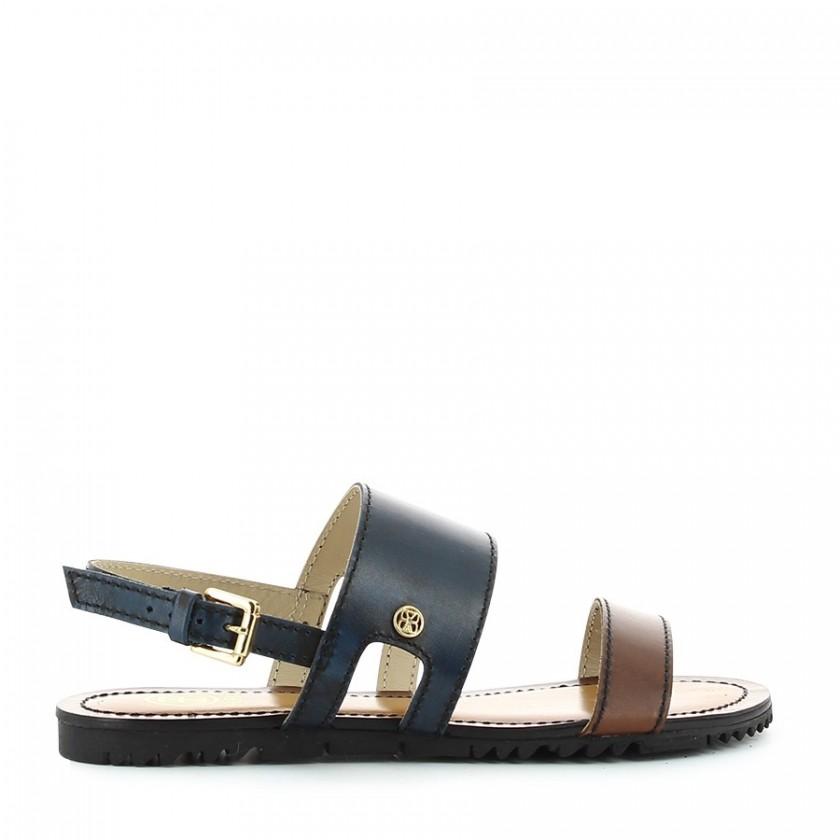 Sandálias Senhora Azul...