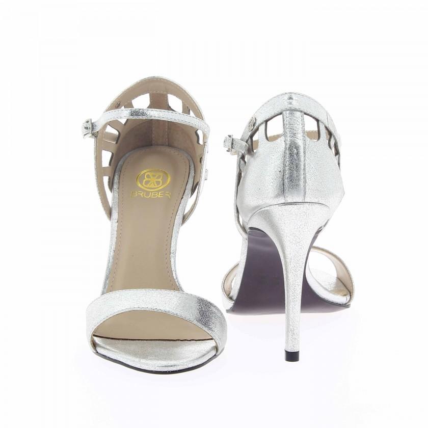 Sandálias Senhora Prata