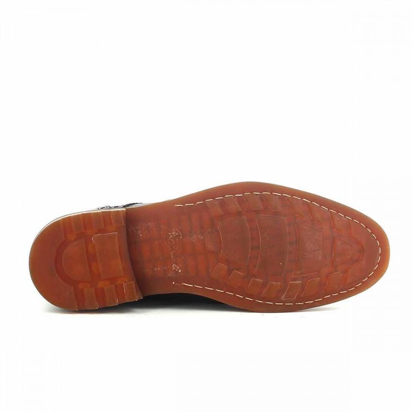 Black Man Boots