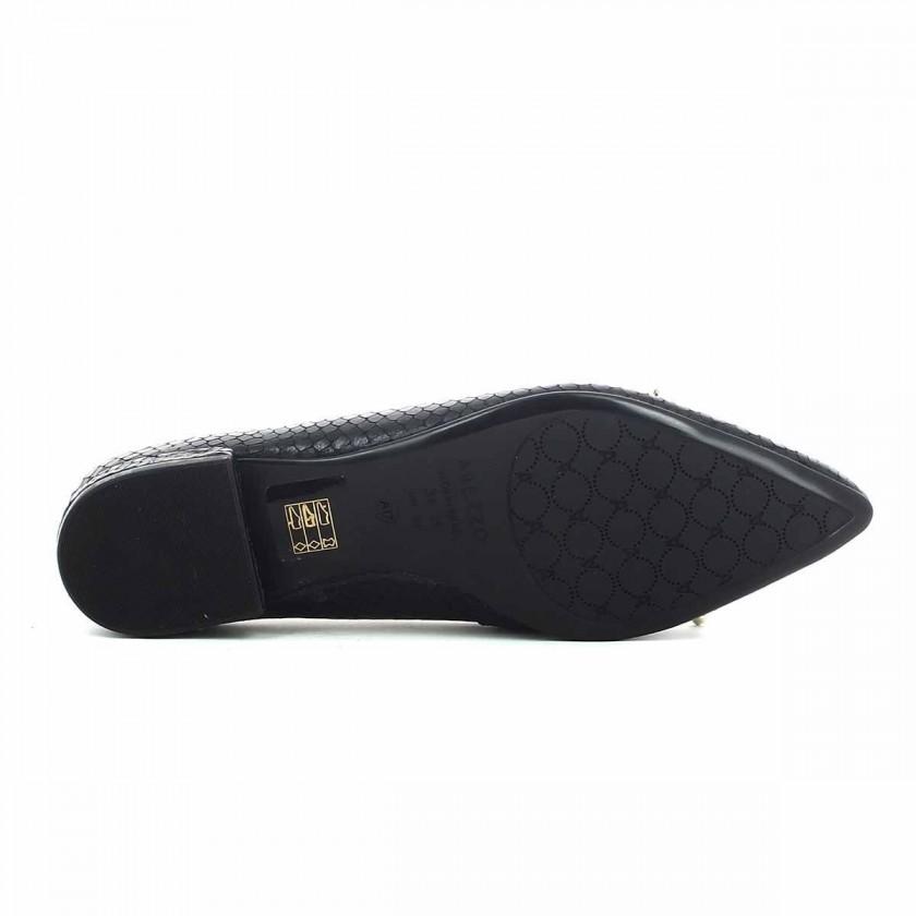 Sapatos Pretos Rasos Senhora
