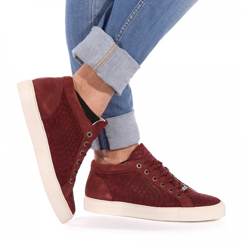 Sneakers Homem Bordô