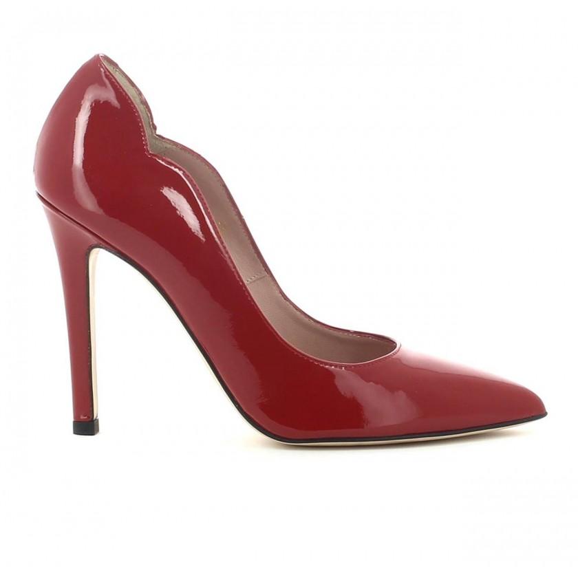 Sapato Senhora Verniz Vermelho