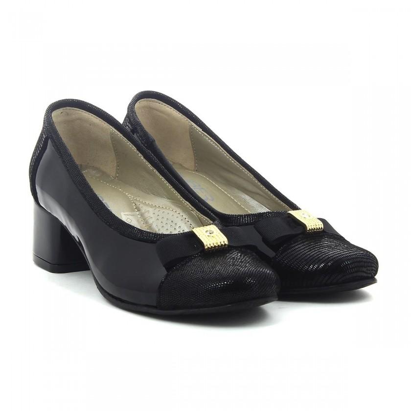 Sapatos Verniz Preto Senhora