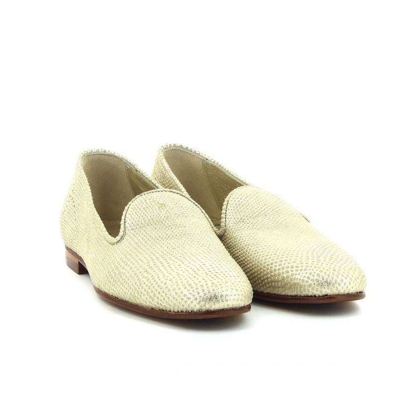 Sapato Senhora Platina