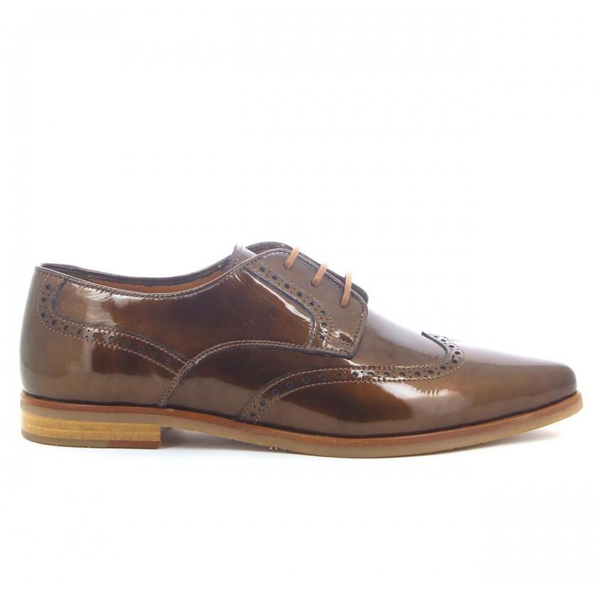 Sapato Senhora Bronze
