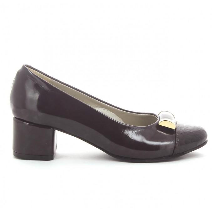 Sapatos Verniz Castanho Senhora