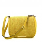 Bolsa senhora amarela